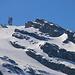 Aussicht bei Ober Zieblen (1631m) zum Funkturm vom Klein Titlis und aufs Rotstöckli (2901m), dem höchsten Gipfel Nidwaldens.