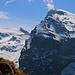Aussicht von unserem Biwakplatz auf den höchsten Gipfel Obwaldens, dem 3238,3m hohen Titlis.
