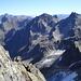 Blick zur Saumspitze(3039m); rechts die beiden Seeköpfe(3061m)