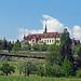 von Rorschach kommend geht´s am Kapuzinerinnen Kloster vorbei nach Tübach