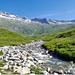 Blick hinein ins Tal des Chelbachs. Weit hinten, auf ca. 2140 m, ist die Schöpfe der Nessjeri.