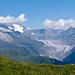 Blick vom Foggenhorn zum Grossen Aletschgletscher