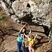 unterwegs am Bouldersteig