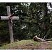 Gipfelkreuz auf dem Schartenköpfel - der Jesus mit dem Kupferdach