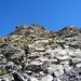 Da geht's runter: Impression vom Abstieg über den NW-Grat des Pizzo di Güida