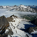 Gletschersee und Gipfel
