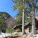 Jagdhütte unterm Gipfel