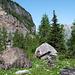 Hier in der Nähe zweigt der Felsenpfad ab