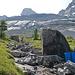 Die Wasserfassung der Doldenhornhütte