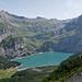 Blick vom Oberen Biberg zum Öschinensee