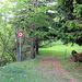 Passage interdit aux piétons à cause des éboulements.