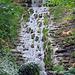 Einer der künstlichen Wasserfälle im Mülibach Tobel.