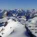 Blick über den Bocktschingelgrat nach Süden