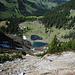Tiefblick zum Röthensteiner See