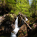 Mini-Wasserfall am Sagenbach