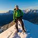 Schöner kann Bergsteigen nicht sein
