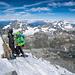 Der Heilige Bernhard empfängt die Matterhorn-Besteiger