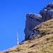 Der Säntisturm reckt sich mit dem Gir-Gipfel um die Wette
