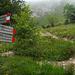 Cartello indicante il sentiero 7 - Cermenati che si seguirà sino alla cima