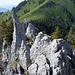 Rückblick zu Bleikigrat und Buochserhorn.