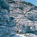 Einige Kletterstellen auf dem Grat, zwischen Güz und Fora