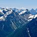 Tiefblick in die Italienischen Alpen
