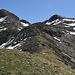 wir steigen direkt vom Lagh de Calvaresc über die Krete hoch zum Piz de l' Ardion