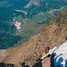 Blick vom Gipfel auf Salecina