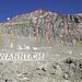 """Topo der Wiwannihorn SSW-Wand. Route """"Gemstritt"""" ist G, Abseilen über Route """"Ratatui"""" ist B (1 x 40m oder 2 x 20m)"""