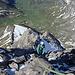 Seb auf dem Weg zum Gipfel