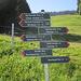 nahe der Bergstation: große Auswahl - mein nächstes Zwischenziel das Naturfreundehaus - die angegebenen anderthalb Stunden sind reichlich bemessen