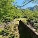 Il ponte di Pianezza, dove lasciamo il sentiero per il lago Darengo seguendo le indicazioni per il bivacco Ledù