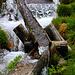 Urtümliche Wasserfassung für den Brunnen auf der Funtauna Grossa (1920m) .