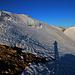 Ein wunderschöner Blick bot sich unterhalb vom Ostgipfel P.2957,9m hinüber zum Piz Turettas Hauptgipfel (2963m).
