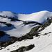 Im Zoom zeigte sich der Piz Turettas (2963m) knapp eberhalb vom Biwakplatz beim Lai da Chazforà ein letztes Mal in seiner ganzen Grösse.