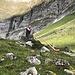 ein Ständli vom Alphornbläser in eisiger Kälte