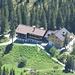 Nur mit Hilfe des Zooms kommt die Lindauer Hütte schnell näher.