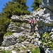 Erste Aufstiegsmöglichkeit zum Gipfel (II)