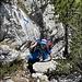 Ketten helfen über steilere oder ausgesetztere Passagen