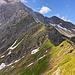 Noch ein Blick auf den Nordwestgrat des Nebelhorns.