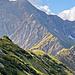 Der Nebelhorn-Nordwestgrat... heute eine Nummer zu groß...