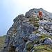 Steiler, aber zumeist verhältnismäßig unschwieriger Aufstieg zum Gundkopf.