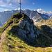 Der Gipfel des Entschenkopf - mit einem Teil des sehenswerten Panoramas...
