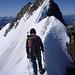 Abstieg über den luftigen Spallagrat<br />Foto C.