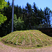 Nettenberg: Beim Funkturm neben dem Wasserreservoir hatte ich wegen zu hohen Bäume leider keine Aussicht übers Rheintal.