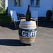 In Bözen (405m):<br /><br />Flasche leer, Weinhändler voll? :-)