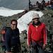 Mattia (nostro capo-cordata) e Mauro sullo Scalettahorn!<br />Grazie per averci portati quassù!