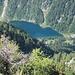 Il lagh de Cama dall'alto