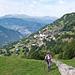 Im Aufstieg von Oberbirgisch zur Oberschta