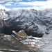 Sefinental, darüber Jungfrau, Grosshorn und Breithorn